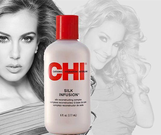 Chi Silk, Περιέχει καθαρό μετάξι και πρωτεΐνες σίτου και σόγιας