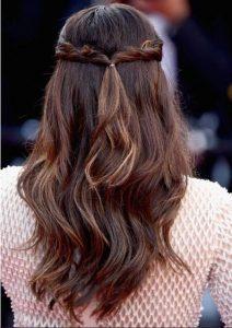 Γιορτινές στυλιστικές ίδεες για τα μαλλιά 2017